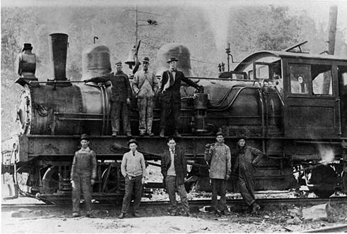 Steam Locomotive - logging in the Smoky Mountains