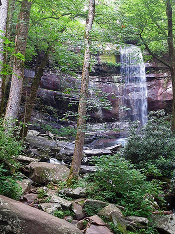 Roaring Fork Trail and Rainbow Falls