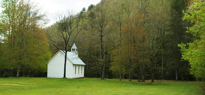 Palmer chapel - Cataloochee Valley