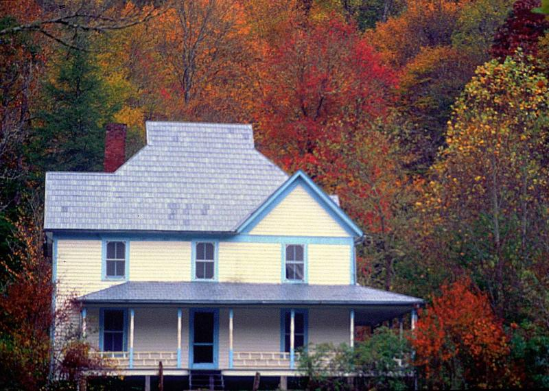 Caldwell House at Cataloochee